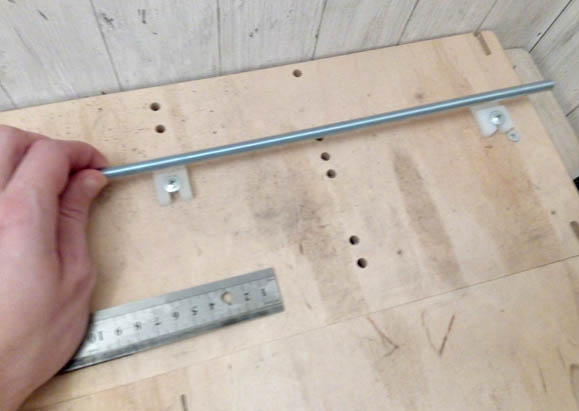 метровая шпилька для раб поля выжигателя