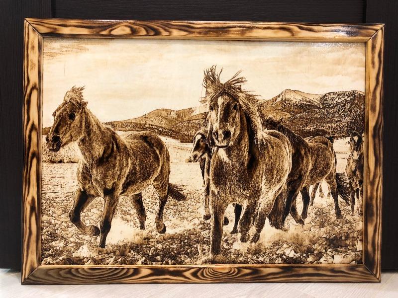 horses-wood-burnings