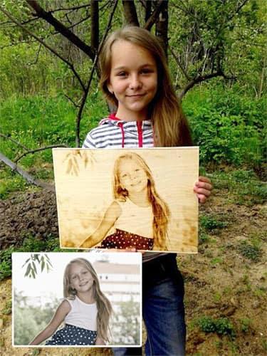 Бизнес по изготовлению выжженных портретов