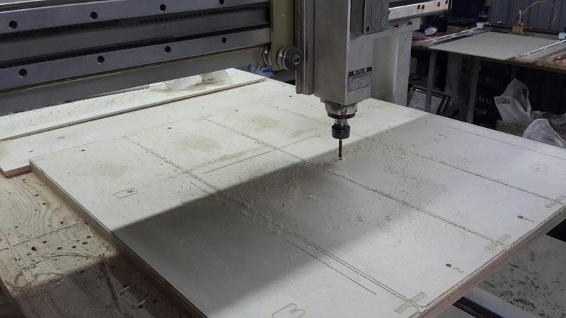 Производство ЧПУ выжигателя Pyroprinter